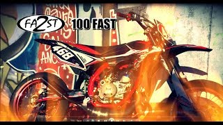 ON ARRACHE LE BITUME Ft NIKOSBIKE EN 100 FAST !!