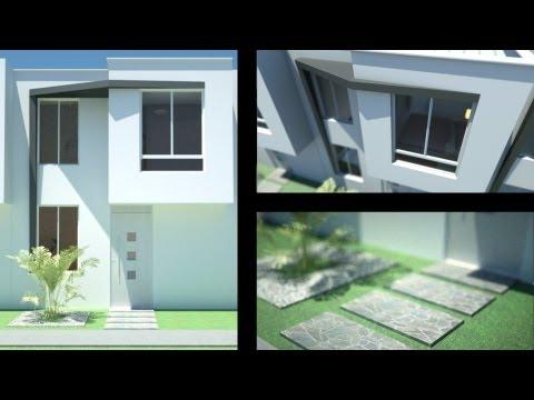 planos gratis casa moderna 2 pisos 6 00 m x 9 00 m parte 1
