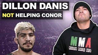 Dillon Danis will NOT corner Conor McGregor at UFC 246