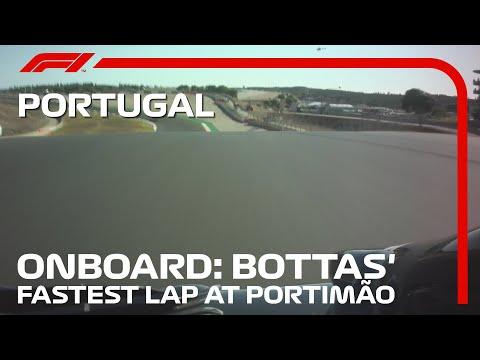 ファステストラップを記録したボッタス(メルセデス)のオンボード映像!F1 第12戦ポルトガルGP(ポルトガル)