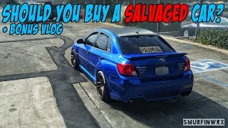 5 Reasons NOT to buy a Salvaged car