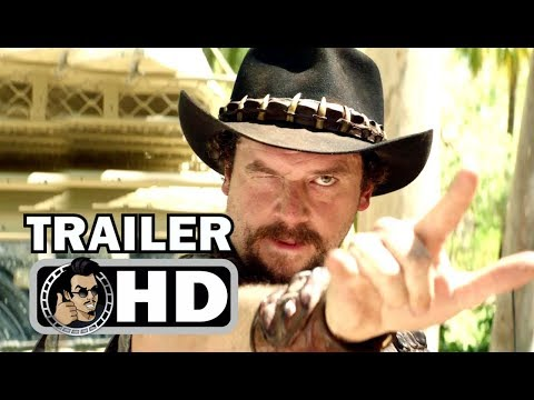 DUNDEE Official Teaser Trailer #3 - Chris Hemsworth & Buffalo (2018) Danny McBride Comedy Movie HD