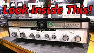Look Inside This Pioneer Tube Receiver!