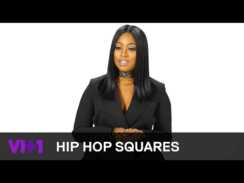 Tupac Shakur Remembered By Trina & @VH1 Love & Hip Hop Cast  | Hip Hop Squares