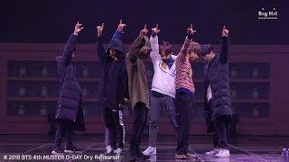 BTS (방탄소년단) Rehearsal Stage CAM 'Best of Me' @4th MUSTER #2018BTSFESTA