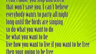 Drake Bell- Do What You Want (with lyrics)
