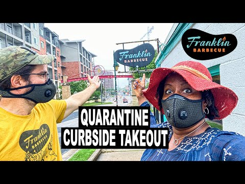 Franklin BBQ | Curbside Pickup Takeout from Franklin Barbecue during Quarantine - Step-by-Step Guide