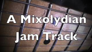 Epic Mixolydian Groove Backing Track (A)