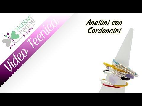 Anellini con Cordoncini | TECNICA - HobbyPerline.com