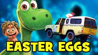 8 EASTER EGGS You Missed In The Good Dinosaur!