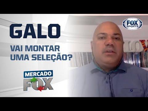 'SELEÇÃO' DO ATLÉTICO-MG BATE DE FRENTE COM O FLAMENGO?