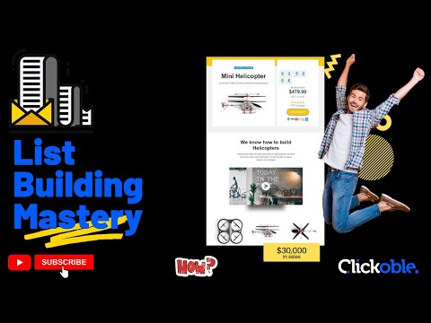 List Building 30 Minutes Mastery Course - 2021
