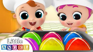 Hot Cross Buns In the Oven, Yummy! | Nursery Rhymes by Little Angel