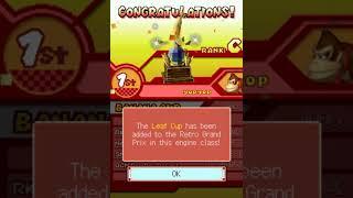 Mario Kart 9 DS - Unlocking 100cc Leaf Cup