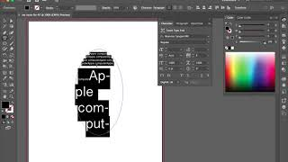 Adobe Illustrator Type Tool
