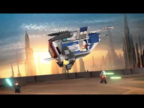 Vidéo LEGO Star Wars 75046 : Vaisseau de la Police de Coruscant