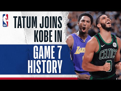 Jayson Tatum Joins Kobe Bryant In Game 7 HISTORY!