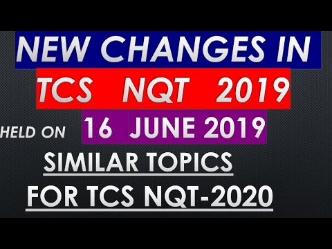 Tcs Digital Syllabus 2020
