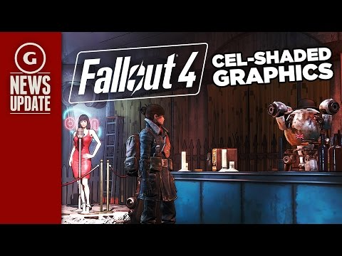 Fallout 4 Mod Adds Gorgeous Cel-Shaded Graphics - GS News Update