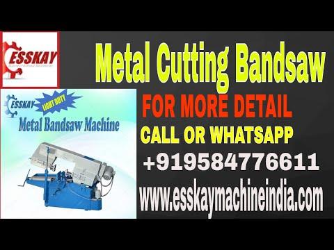 0.15 HP Metal Bandsaw Machine