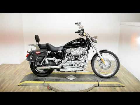 2009 Harley-Davidson Sportster 1200 Custom in Wauconda, Illinois - Video 1
