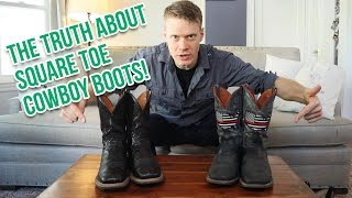 The TRUTH About Square Toe Cowboy Boots