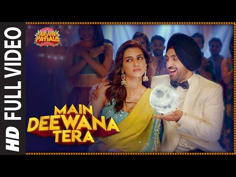 Main Deewana Tera | Arjun Patiala | Diljit D, Krit