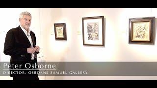 Henry Moore Drawings At Osborne Samuel Gallery 2017