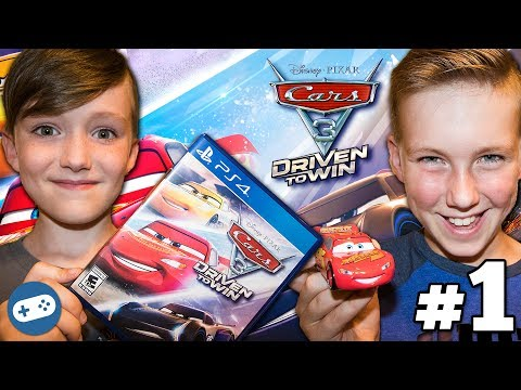 Cars 3 Driven To Win Unboxing And Gameplay Part 1