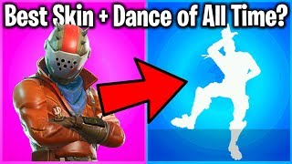 TOP 10 SKIN + DANCE COMBOS IN FORTNITE!