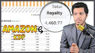 مازيكا الربح من امازون 4000 دولار ربحي في 6 اسابيع || AMAZON KDP تحميل MP3