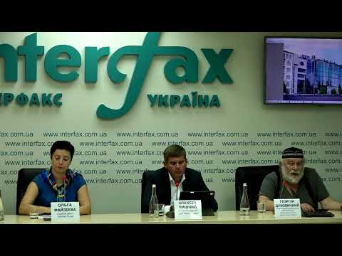 """Прес-конференція з приводу презентації проекту реконструкції та планів щодо реалізації павільйону """"Квіти України"""""""