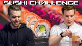 Vem lagar den sjukaste sushin? #Matduellen