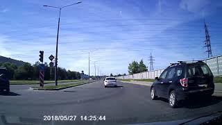 авария северный и светлановский 27.05.18 в 14-26