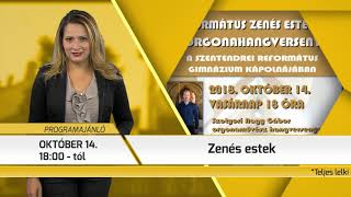 Programajánló / TV Szentendre / 2018.10.04.