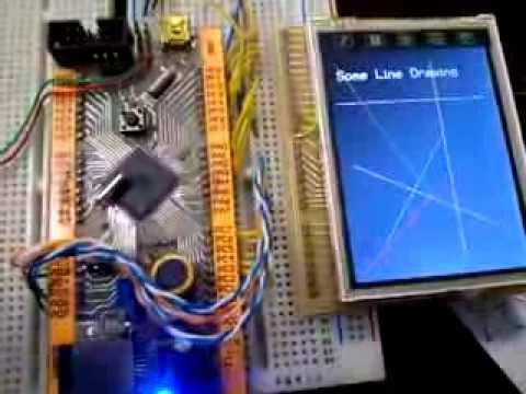 سورس راه اندازی ال سی دی رنگی 240 در 320 (TFT COLOR LCD 240X320)