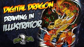 MLD Digital Dragon & Drawing In Illustrator