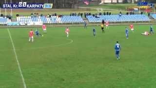 preview picture of video 'Stal Kraśnik - Karpaty Krosno 0:1 (0:0), II połowa'