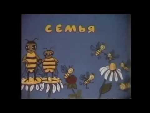ПЧЕЛОВОДСТВО Пчелиная семья. СССР 1987г. СК