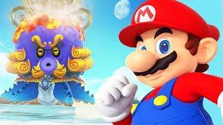 СУПЕР МАРИО ОДИССЕЙ #13 БОСС ГОЛОВАСТИК Пляжное царство Прохождение игры Super Mario Odyssey BOSS
