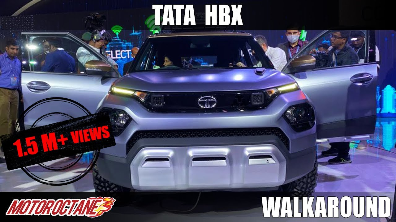 Motoroctane Youtube Video - Tata HBX - It Looks Bold! | Hindi | Auto Expo 2020 | Motoroctane