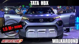 Tata HBX - It Looks Bold!   Hindi   Auto Expo 2020   Motoroctane
