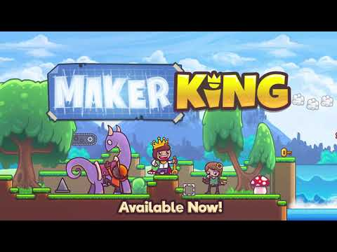 MakerKing, the creative platformer like Mario Maker is coming to Steam