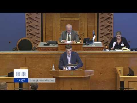 Riigikogu istung, 8. juuni 2016