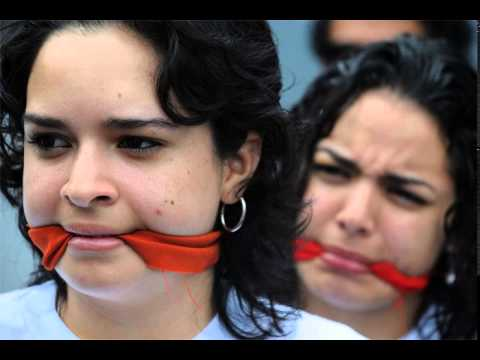 Venezuela Protest Cleave Gagged
