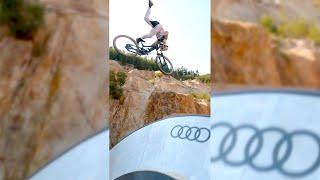 ???? World's CRAZIEST Mountain Bike JUMPS!! ???? FPV Drone!