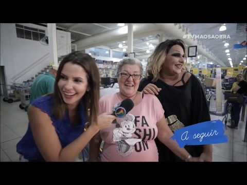 Jurema Fox faz pegadinha para a mãe - TV Mãos à Obra (14.03.20)