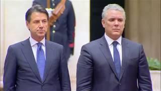 Il Presidente Conte incontra il Presidente della Colombia