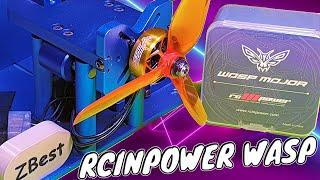 ✅ Легкие, но Мощные Моторы для FPV Дрона - RCINPOWER WASP MAJOR 22.6-6.6 1860KV! ????