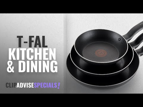 10 Best Selling T-fal Kitchen & Dining [2018 ]: T-fal B363S3 Specialty Nonstick Omelette Pan 8-Inch